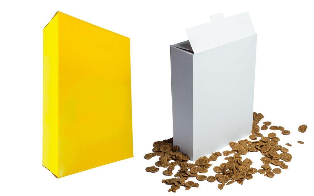 Cartón plegadizo flexografia